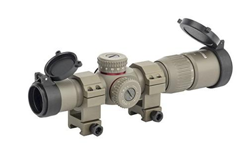 first focal plane rifle scope