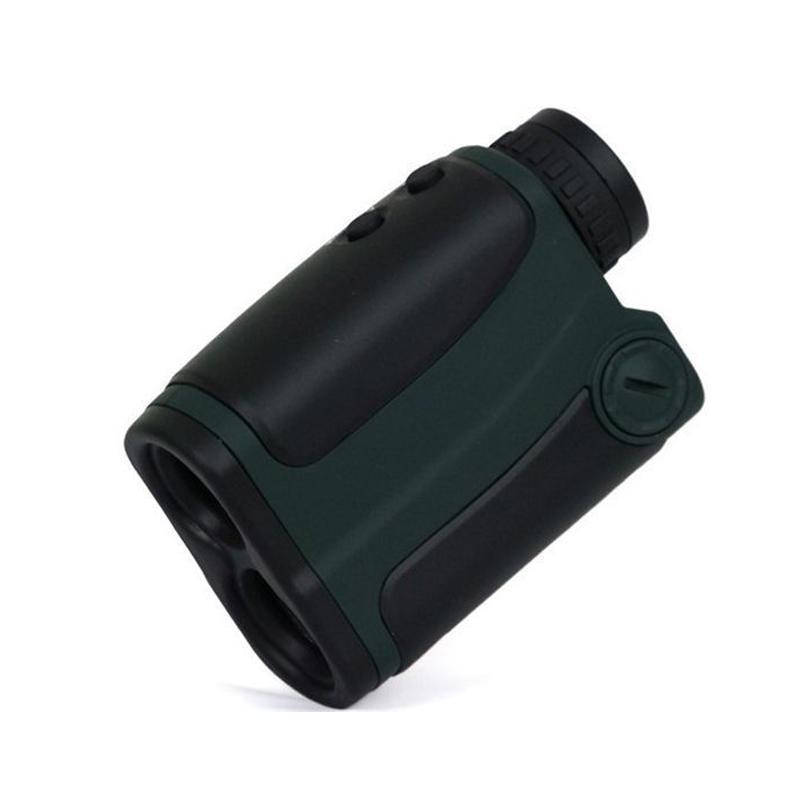 <font><b>Bushnell</b></font> laser rangefinder measuring tool outdoors