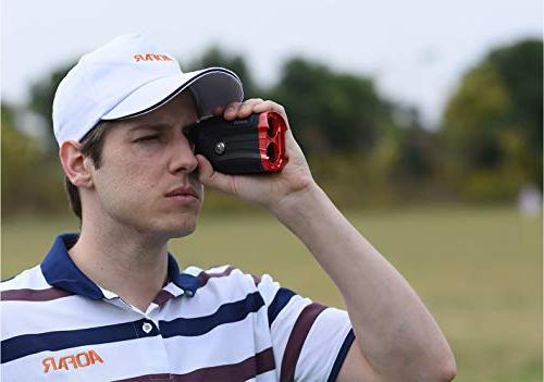 AOFAR G2 Golf with Laser Range 6x25mm Waterproof, Pulse Case, Battery, Gift Packaging