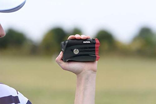 AOFAR Golf Rangefinder with 600 Laser Waterproof, Vibration, Case, Free Battery, Packaging