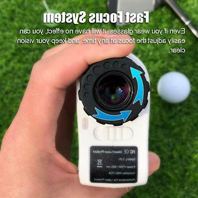 PeakPulse Golf Laser