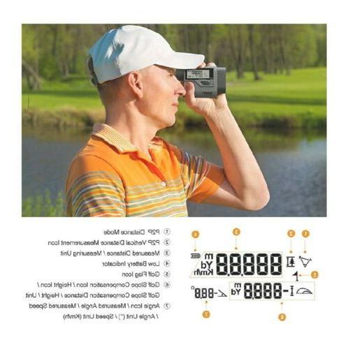 SUAOKI Golf Rangefinder 656 Yd Flag Lock