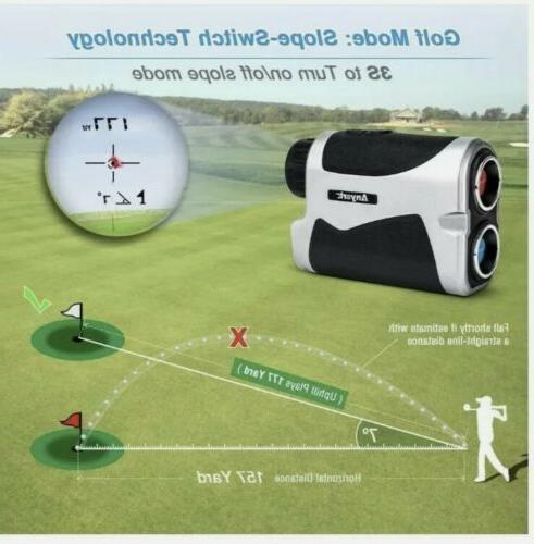 Anyork Golf Laser Range Finder 1500 Yard with