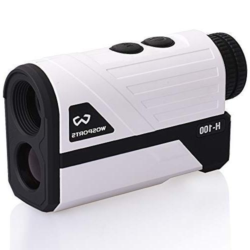 Wosports Rangefinder, Yards Laser Range with Distance/Speed/Angle Measurement