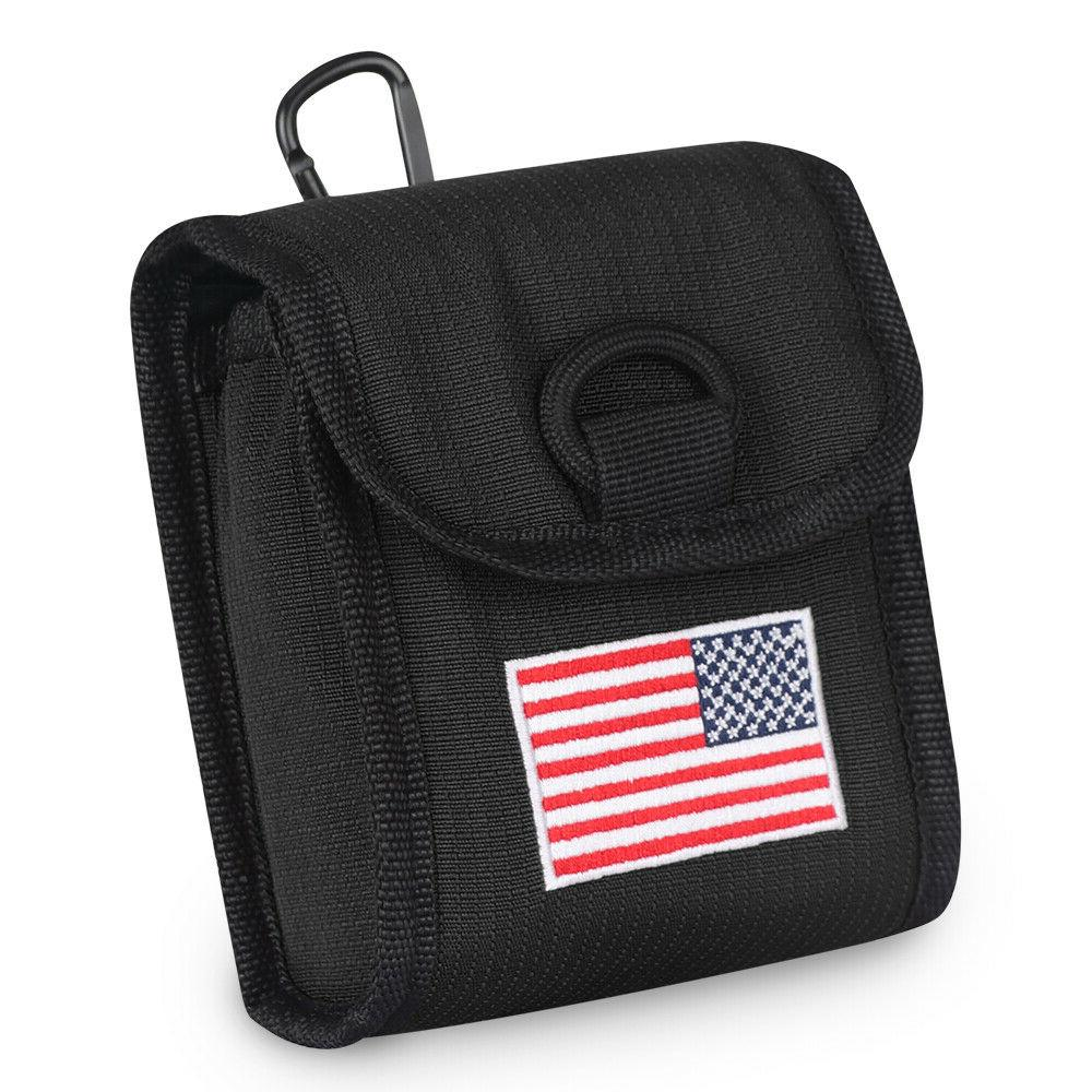 golf rangefinder case cover magnetic usa flag