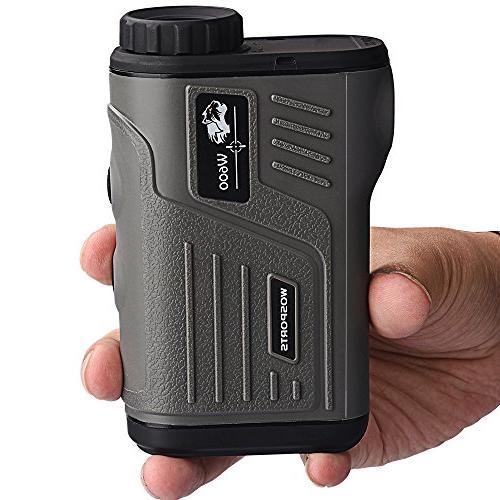 Wosports Golf Rangefinder Laser Hunting with - 5-700 Yard