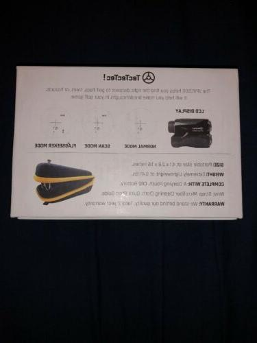 Golf Laser Finder Compact Durable