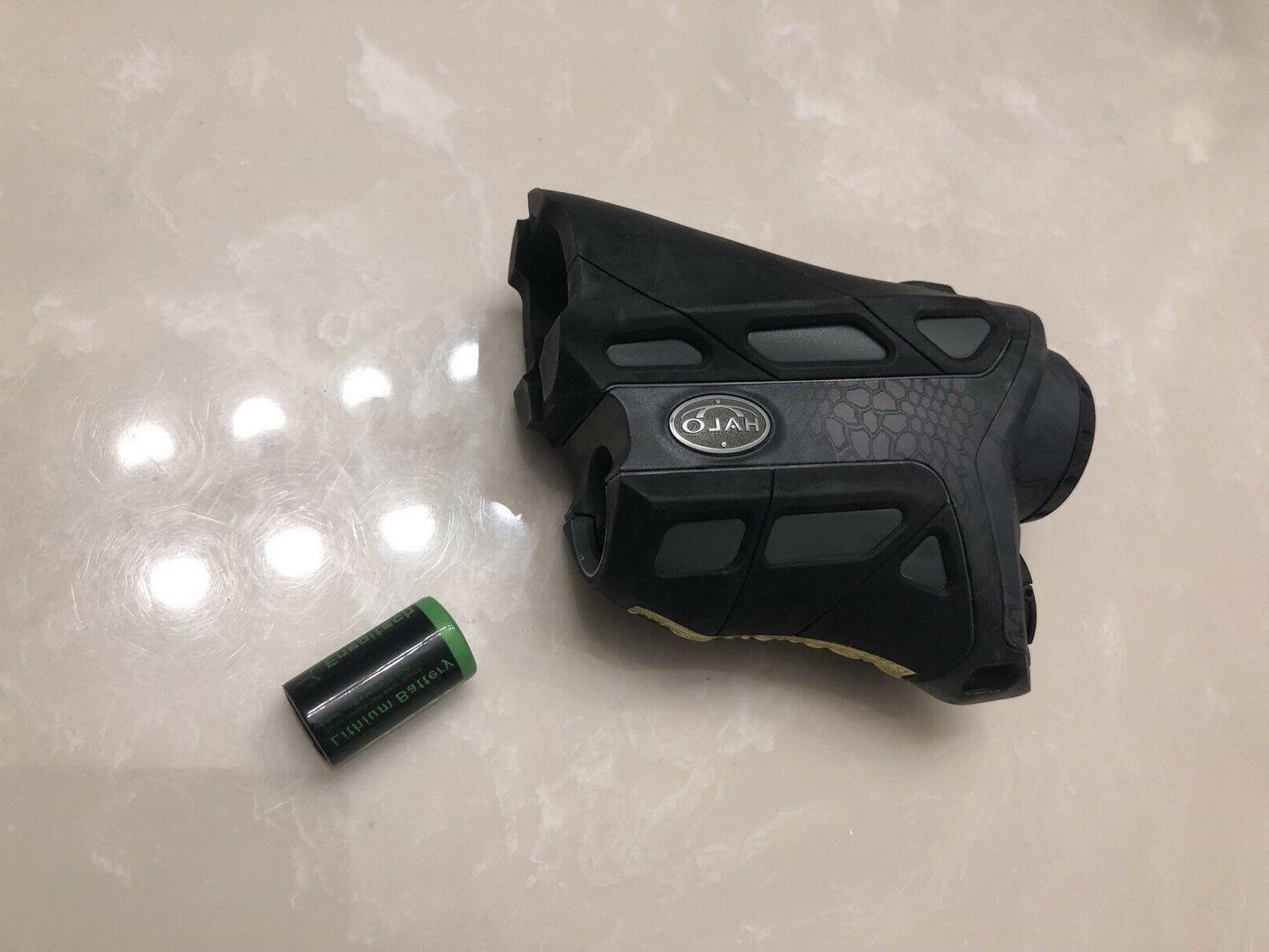 Halo Rangefinder ZIR10XD 1000 yard CR-2 Battery INCLUDED*