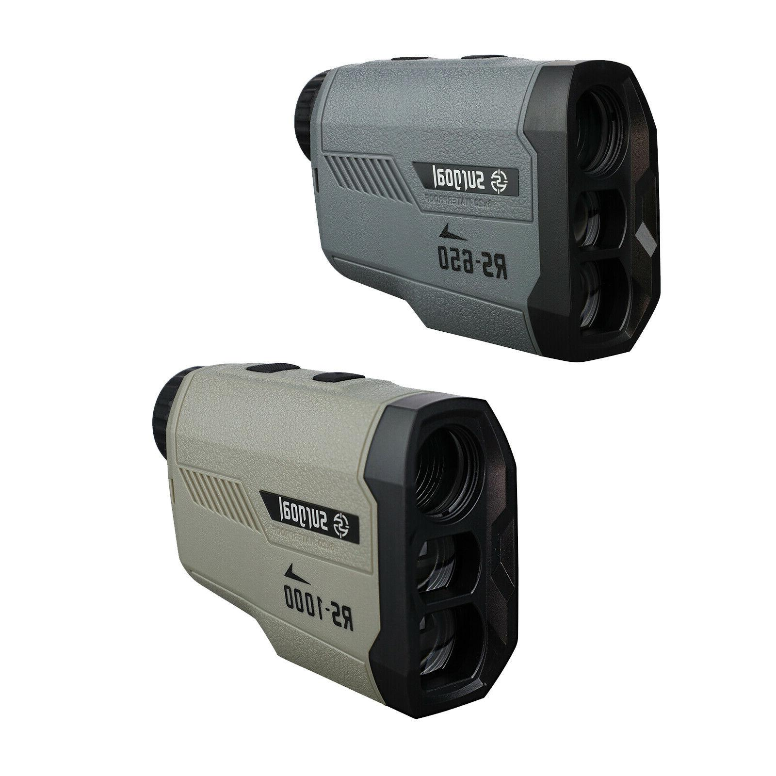 hd golf and hunting laser rangefinder 650yd