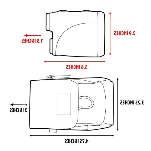 USA Gear Case Strap - Fits Nikon ACULON VPRO500, 16228 Arrow 5000, Coolshot 20, Prostaff Monarch 7I, and More