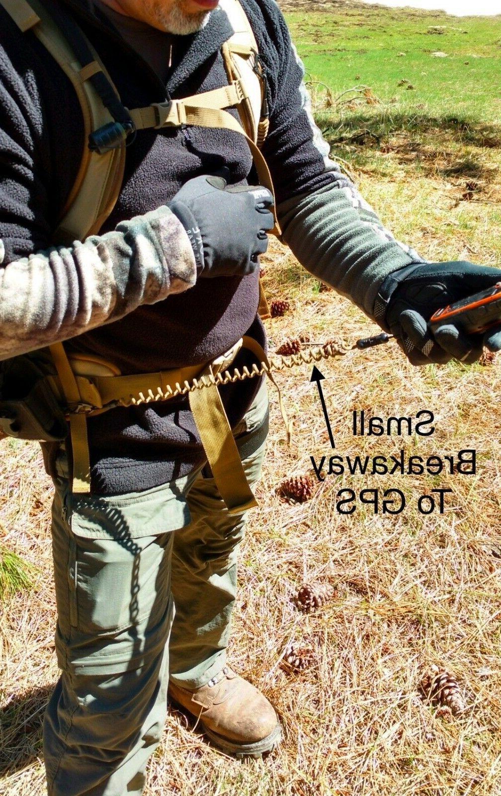 Hunting & Black Archery Rangefinder Bino Harness Paracord