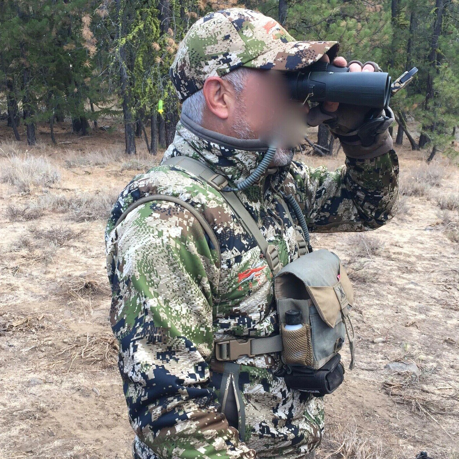 Hunting Lanyard Coyote GPS Rangefinder harness coiled paracord