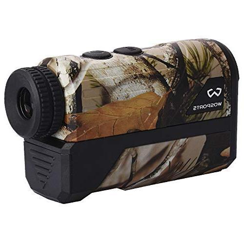 Wosports Finder, Upgraded Battery - Laser Rangefinder Bow Speed