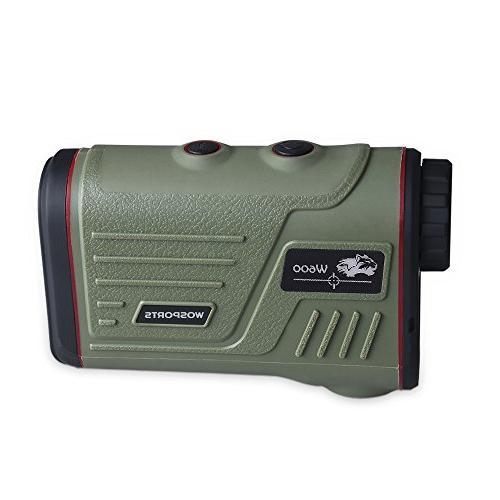 Wosports Hunting Rangefinder, Range with Ranging