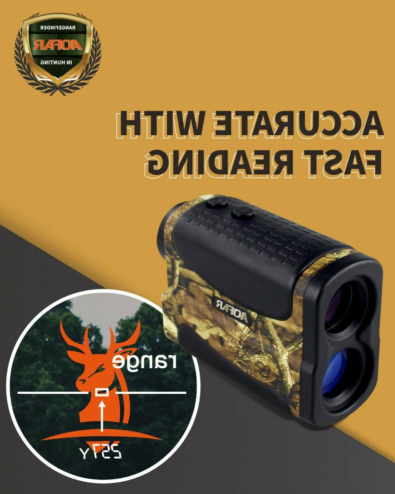 AOFAR HX-700N Laser Finder Hunting Archery yards Waterproof