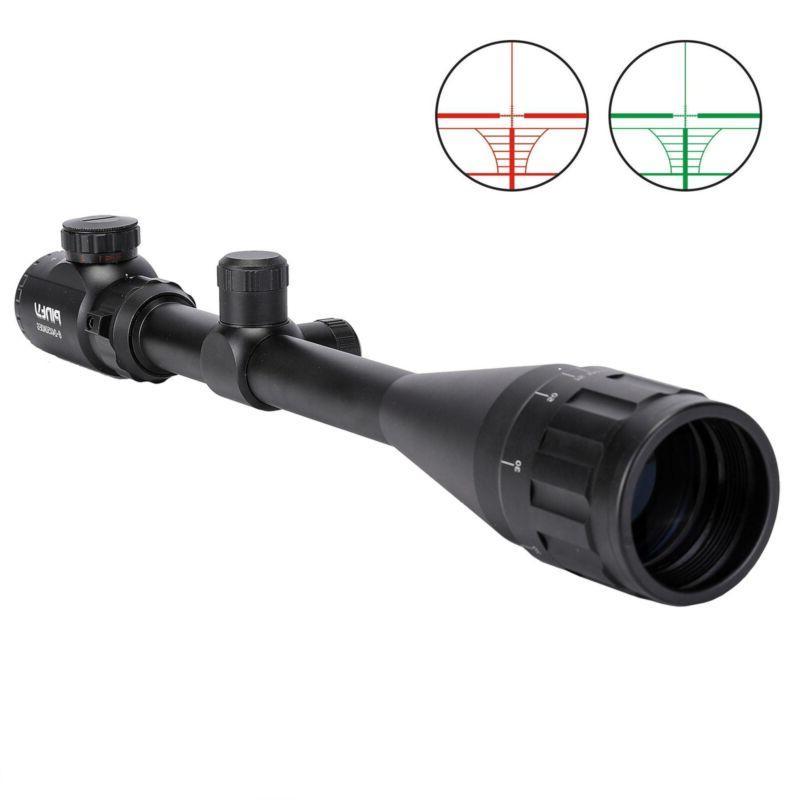 Pinty 6-24x50AO Rangefinder Green Dual Optic Rifle w/