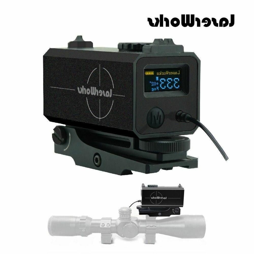 laser range finder rifle sight hunting rangefinders
