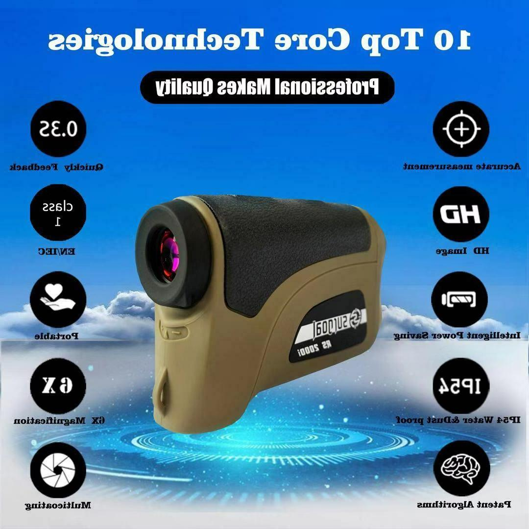 Surgoal HD Rangefinder Waterproof 6X-Mag- 0.3S AMAZING