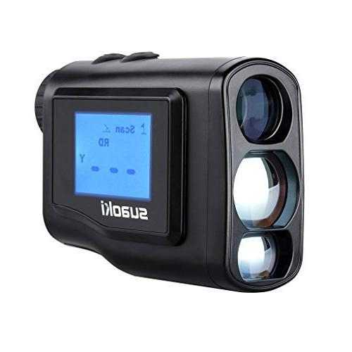 Laser Rangefinder Scope with LCD Perfect Golf Hunting