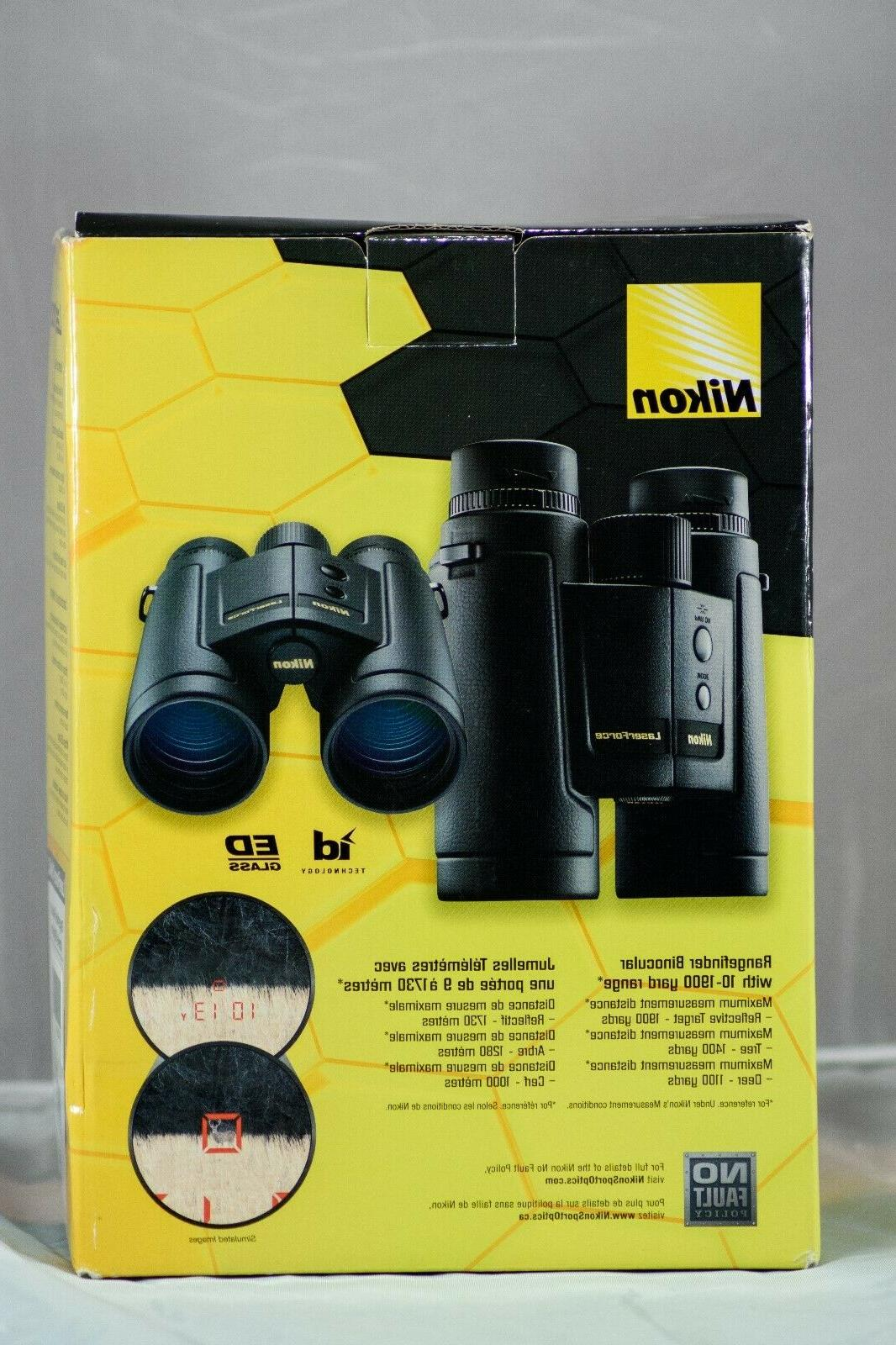 NIKON LaserForce 10x42 Rangefinder Binoculars