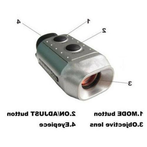 LCD Golf Laser Range Finder Device