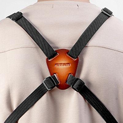 leather nylon binocular harness strap