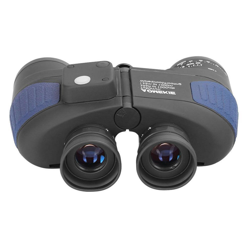 7X50 Binoculars Hunting Camping with Rangefinder Compass Waterproof
