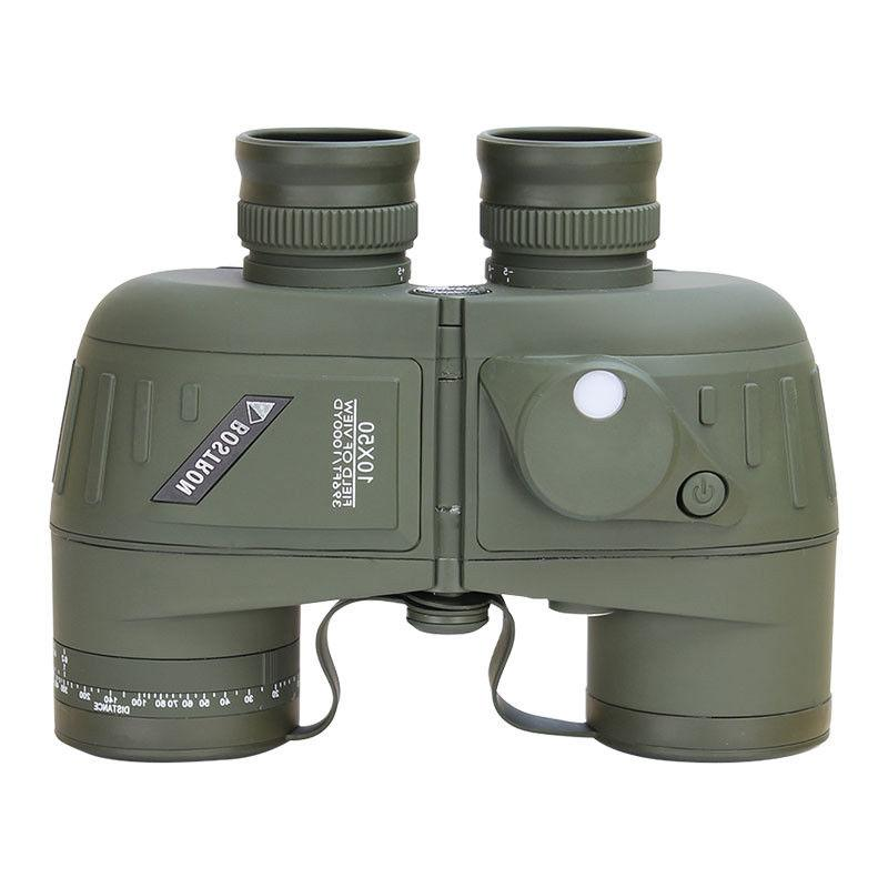 10X50 LLL Military Marine Binoculars BAK4 Lens Waterproof Hiking