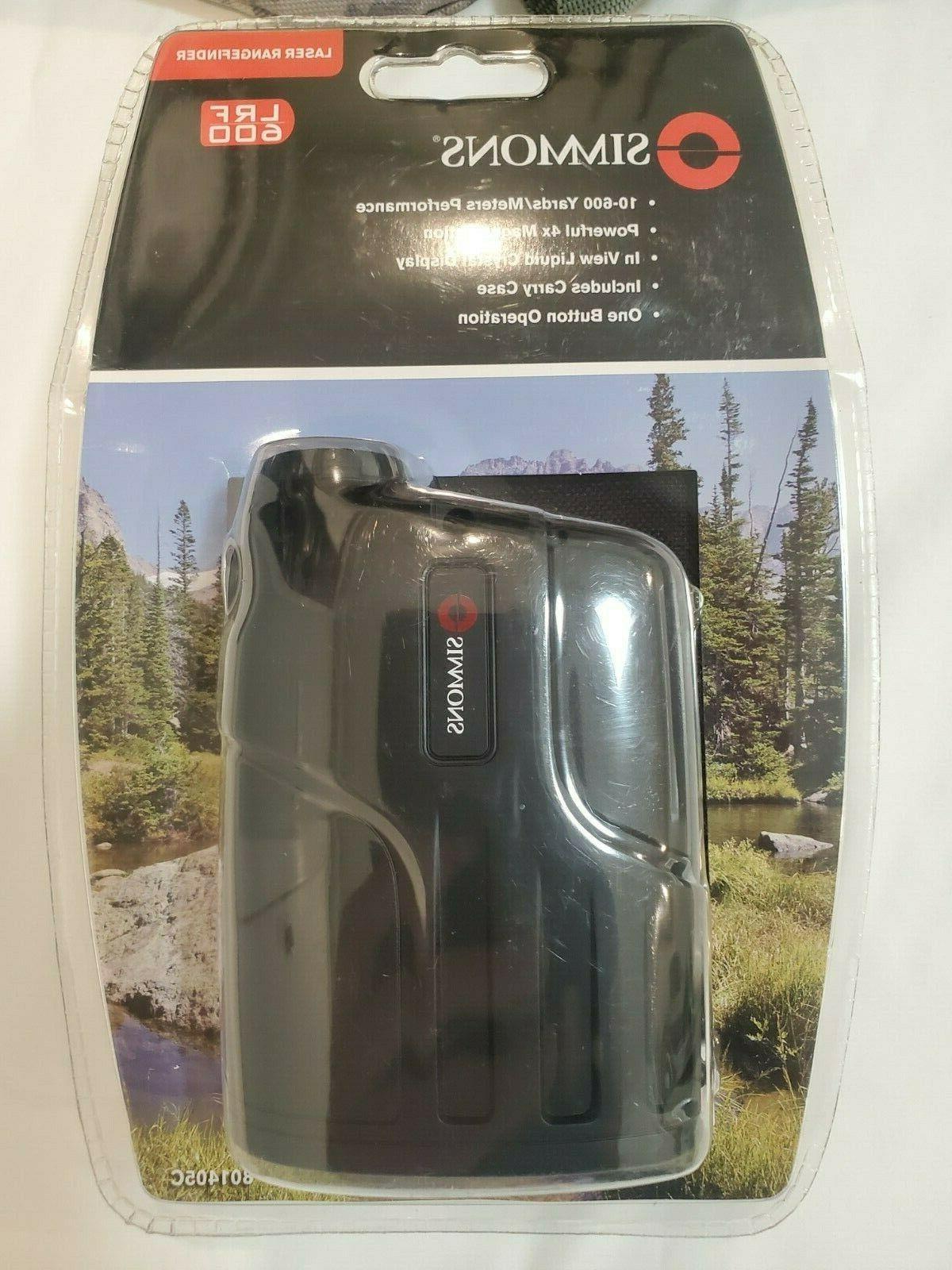 Simmons 600 Rangefinder+ Backpack MI