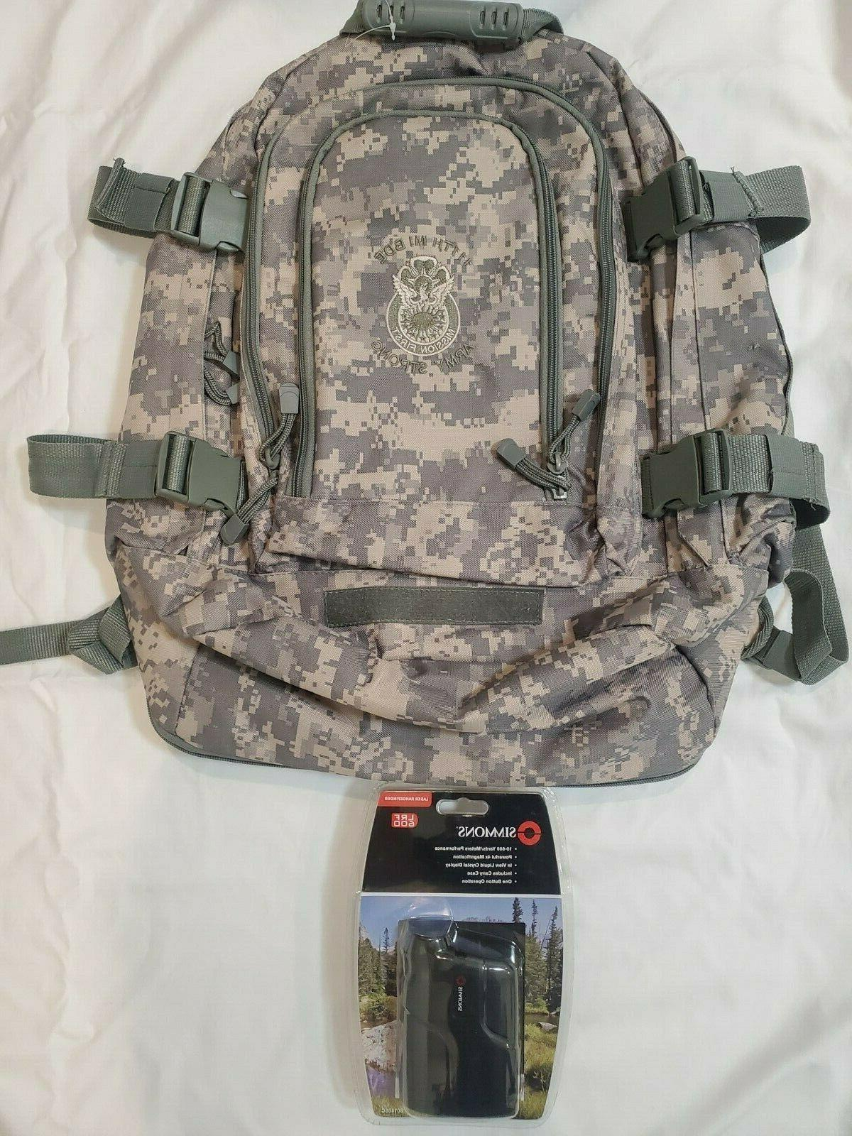 lrf 600 rangefinder backpack 111th mi bde