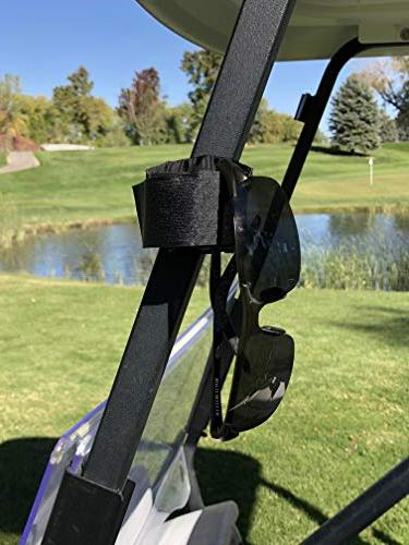 Bushwhacker Multi Mount for Golf Cart Railing Rangefinder GPS Attachment Bar Accessory Range Easy Stick Hanger