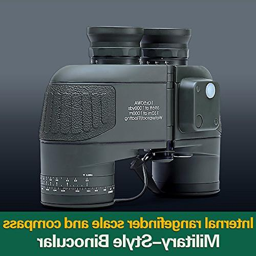 USCAMEL Military HD Rangefinder Compass Army Green