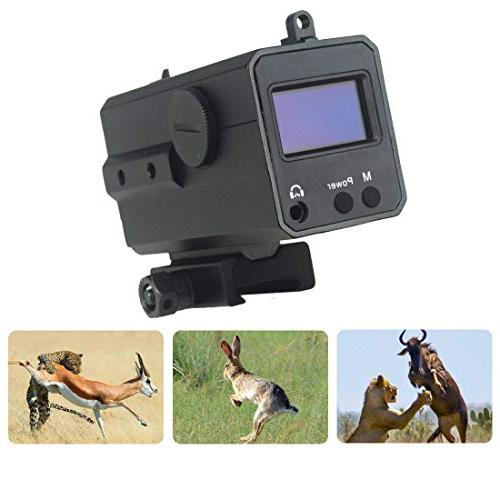 Uineye Yards Rangefinder for Gun, Scope Mate for and