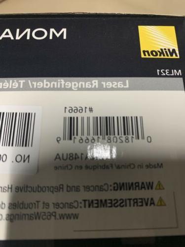 NIKON MONARCH Laser Rangefinder