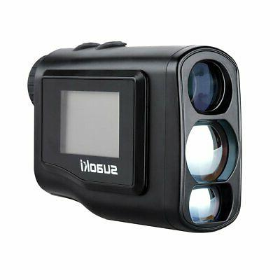 new 600m laser rangefinder portable golf optical