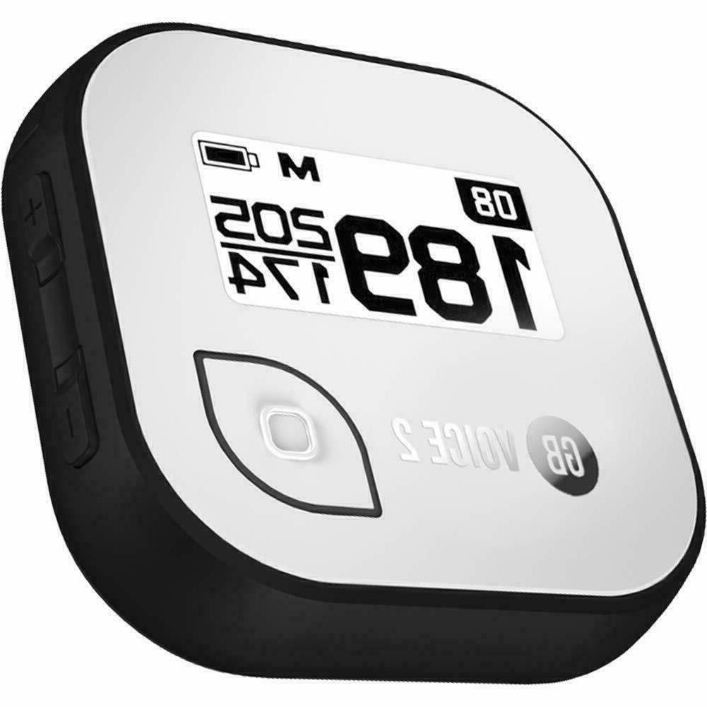 new golfbuddy voice 2 golf gps distance