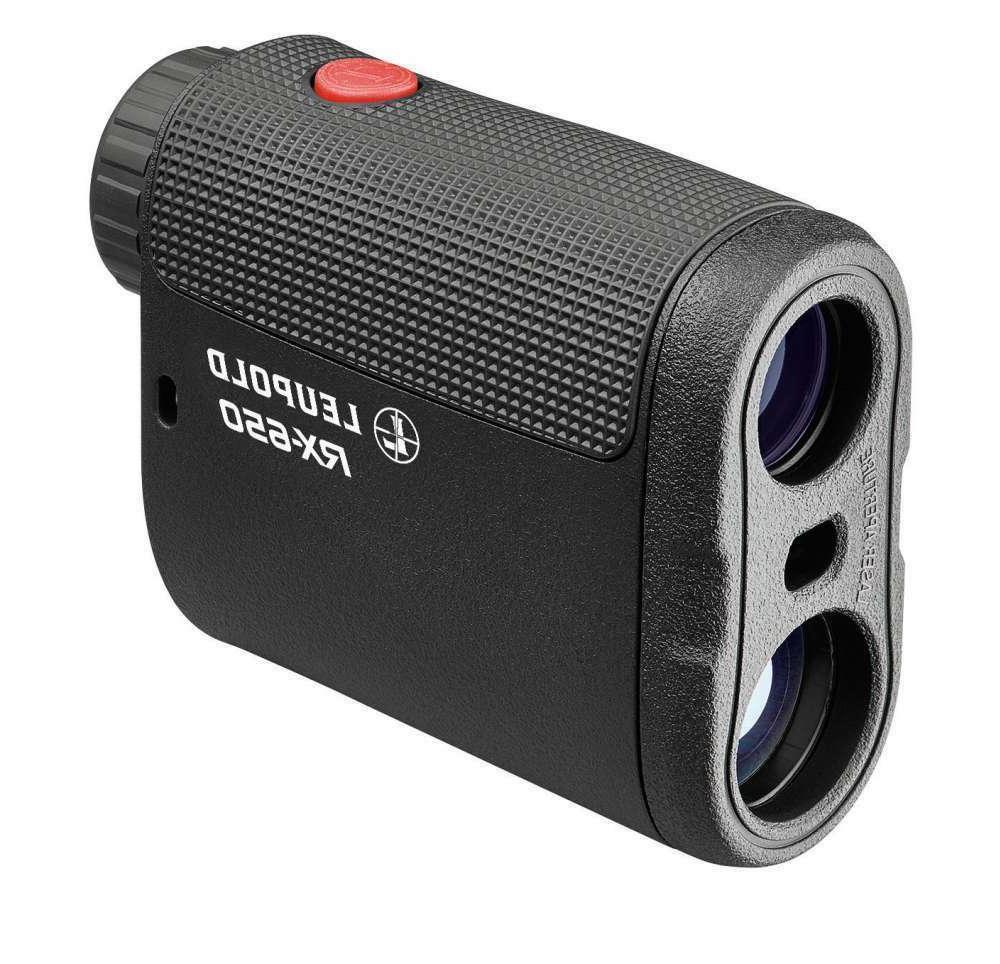 Leupold RX-650 Rangefinder Digital Laser 6x Black with Case Sealed