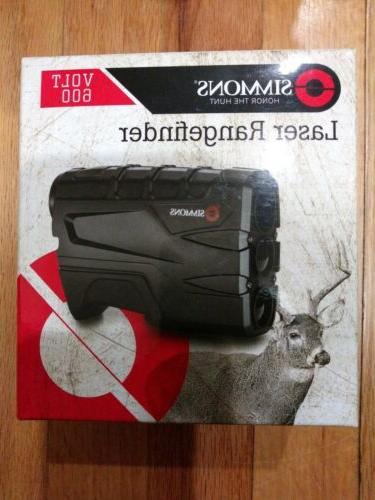 new volt 600 tilt laser rangefinder black