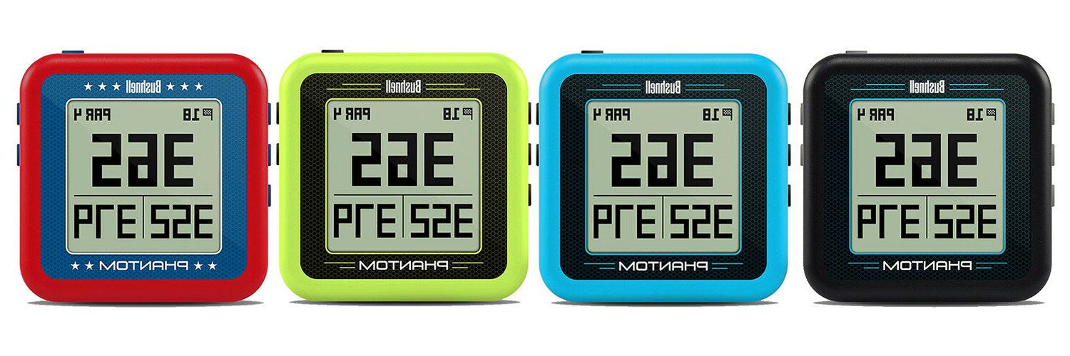 phantom golf gps red green blue or