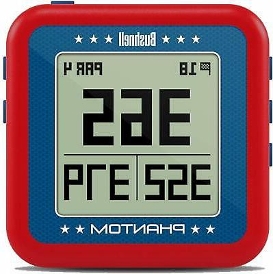 phantom red golf gps with bite magnetic