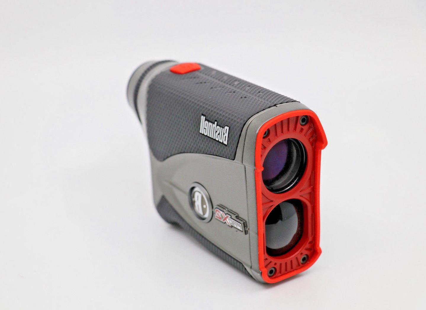 pro x2 golf laser rangefinder with slope