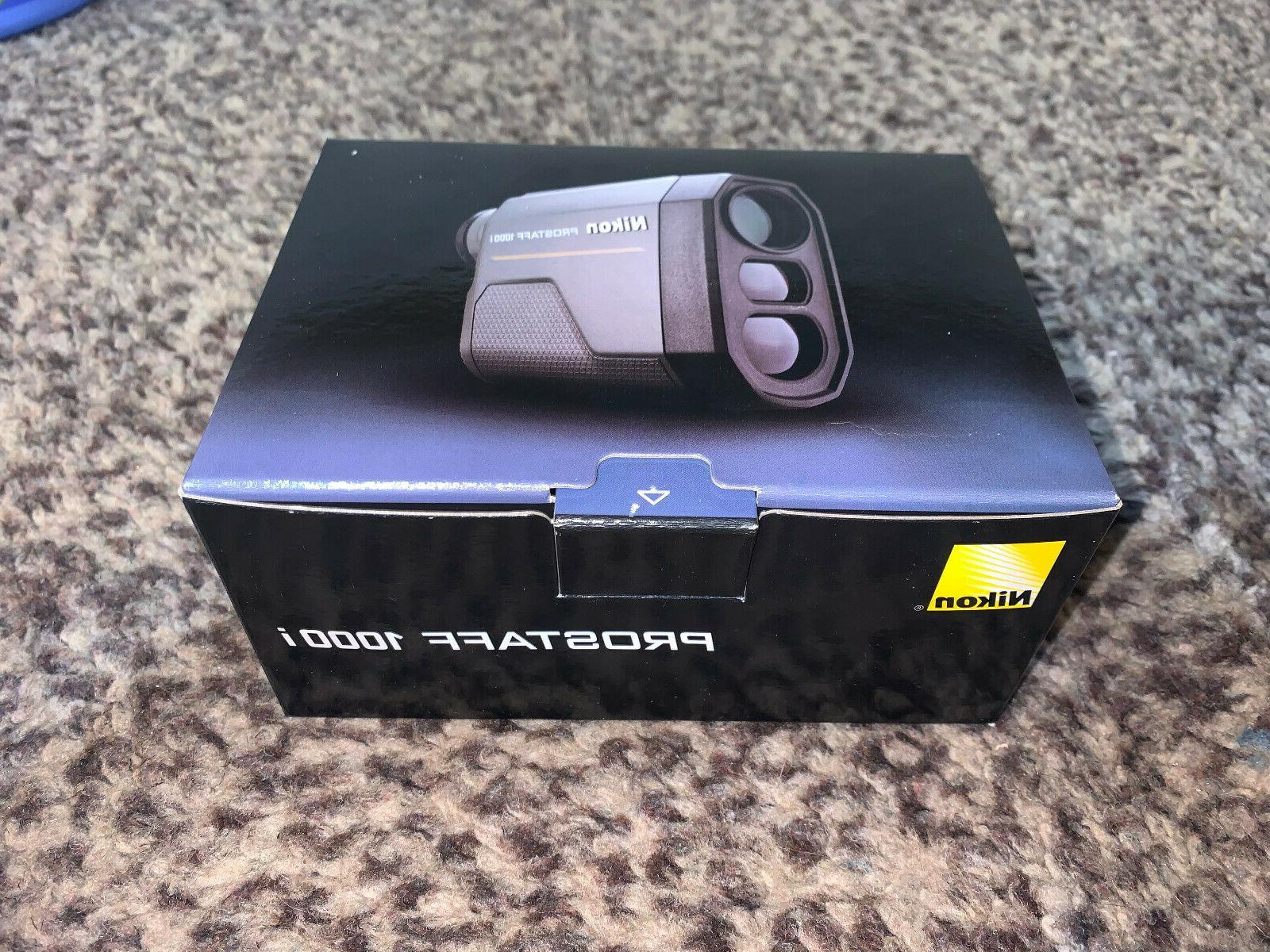prostaff 1000i laser rangefinder 1000 yards black