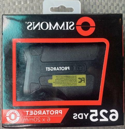 protarget handheld laser rangefinder 6x20mm spl620bw new