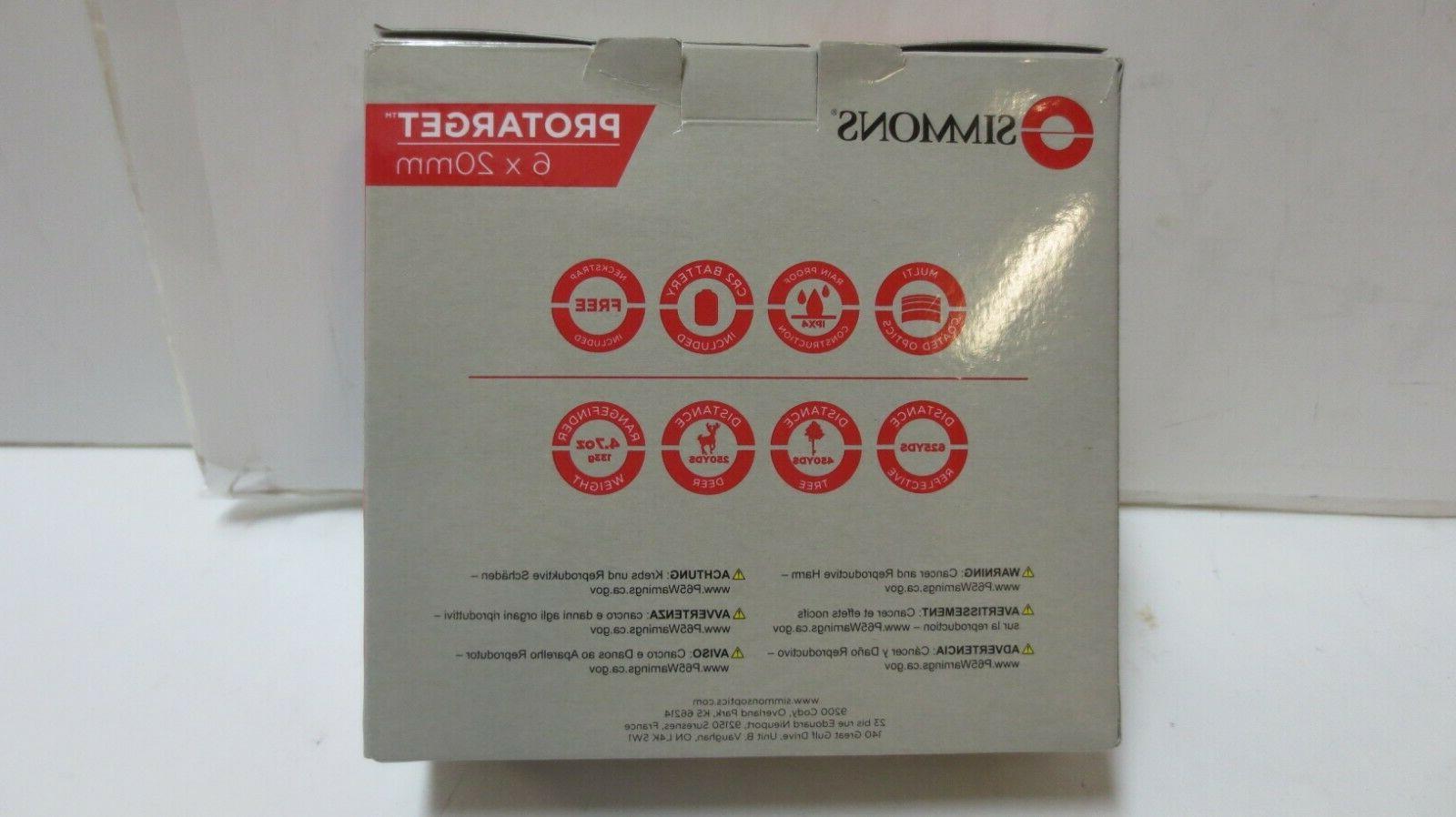 Simmons Rangefinder 6x20mm