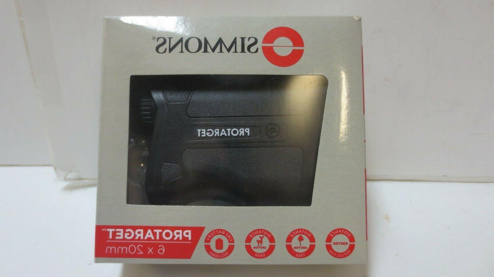 protarget handheld laser rangefinder 6x20mm spl620bw