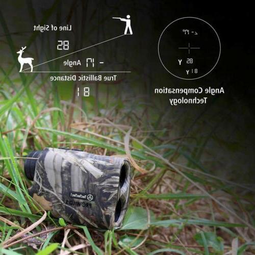 TecTecTec ProWild Rangefinder Rifle Slope