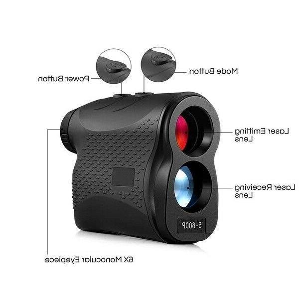 Laser rangefinder for hunting and