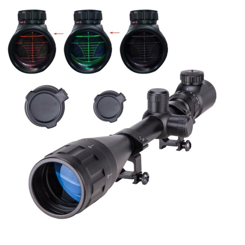6-24X50 Rangefinder Mil Dot Reticle Illuminated Rifle Scope