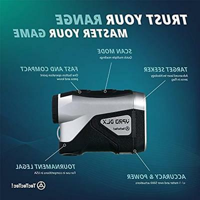 "TecTecTec Rangefinders VPRO DLX Golf - Laser Finder """
