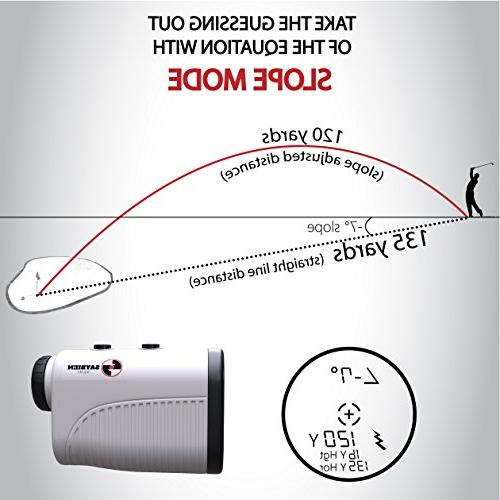 Saybien with Slope Finder Legal - Accurate up 1,200 Yards - Mode Flag